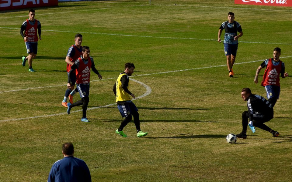 Las imagenes del Entrenamiento - Fútbol Inclusivo
